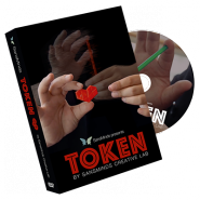 Token (DVD and Gimmick) by SansMinds Creative Lab