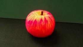 """Поролоновое """"Яблочко""""  (5*6 см)"""